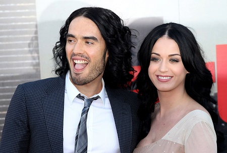 Roar Singer, Katy Perry got divorced from comedian, Russell Brand in 2012