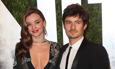 English actor, Orlando Bloom and his former wife, Mirando Ker have announced their seperation in 2013