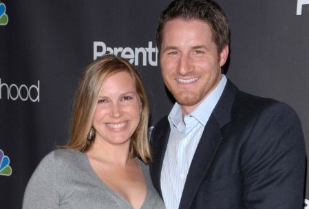 Sam Jaeger Attending An Event With His Wife Amber JaegerSam Jaeger Attending An Event With His Wife Amber Jaeger