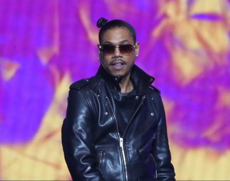 Justin DeGrate's father, DeVante Swing performing on the stage during the Soul Train Music Awards at the Orleans Arena on 7th November 2014 in Las Vegas, Nevada. Know more about Justin's current marital status.