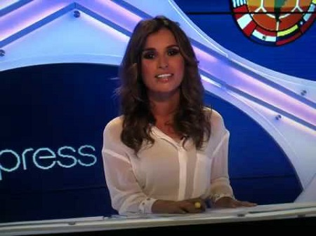 Ana as a host for The Express