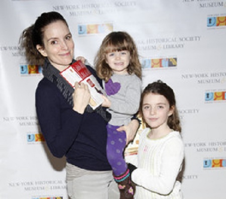 The queen of comedy, Fey and director, Jeff are proud parents of Two Daughters