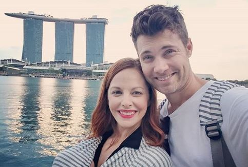 Amy Paffrath And Her Husband Drew Seeley During Their Vacation To Marina