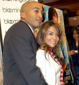 James Lesure And His Ex-Girlfriend Vanessa Marcil