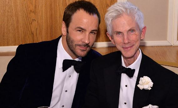 Richard Buckley And His Partner Tom Ford
