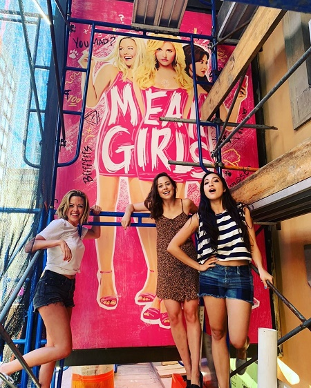 Erika Henningsen as Cady Heron in the Broadway musical Tony Award-nominated, Mean Girls