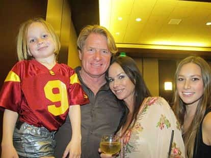Steve Timmons wife, Debbe Dunning and kids