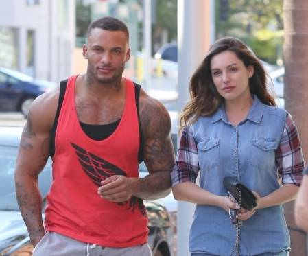 David McIntosh With Kelly Brooke