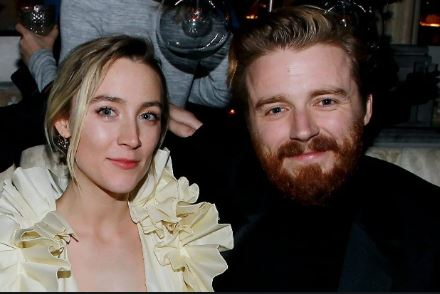 Saoirse Ronan And Her Boyfriend Jake Lowden