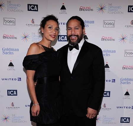 Theodora Holmes with her husband, Troy Polamalu Got Hitched in 2005