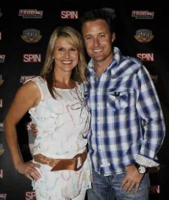 Gwen Harrison and Chris Harrison