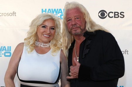 Duane Chapma with his late wife, Beth Chapman