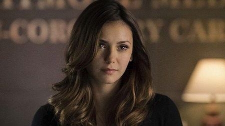 rev as Katherine Pierce in The Vampire Diaries