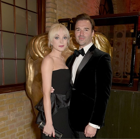 Helen George with her Divorced husband, Oliver Boot