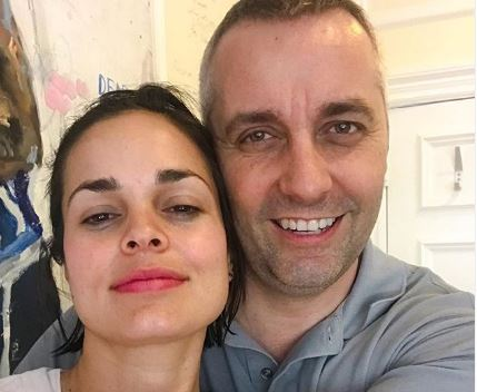 The American actress, Lina Esco with her rumored boyfriend, Fabrice Gautier.