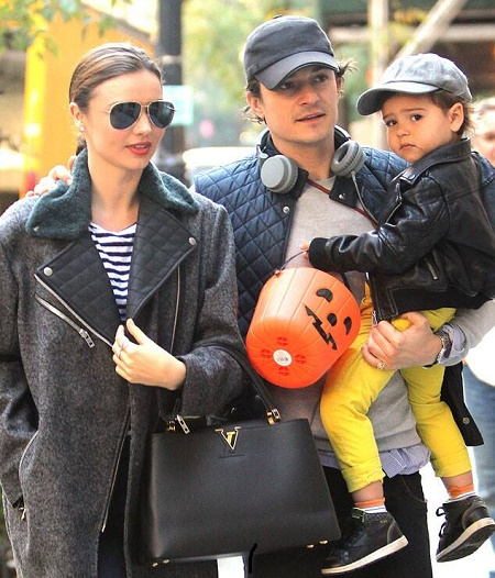 Flynn Christopher Bloom is the Single Child of Orlando Bloom and Miranda Kerr