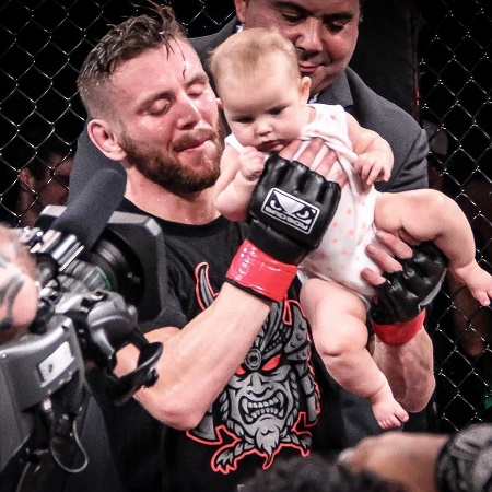 Tim Elliott who won The Ultimate Fighter 24, Tim Elliott is a proud father of one baby daughter, Marion Elliott.