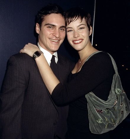 Liv Tyler and  Joaquin Phoenix
