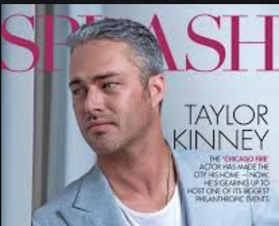 Taylor Kinney Picture In A Magaine Cover