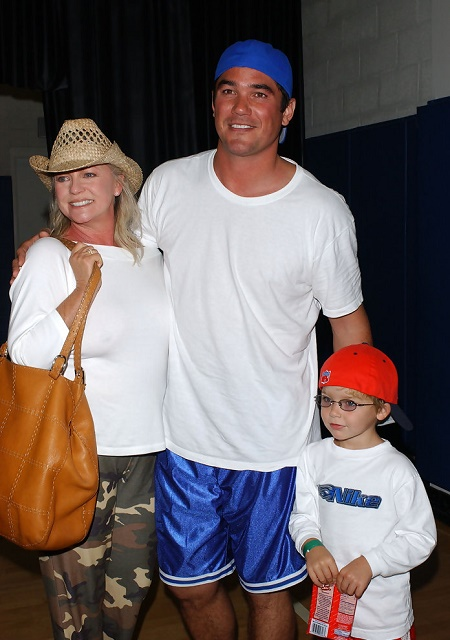 A former football player, Dean Cain is a father of Christopher Dean Cain