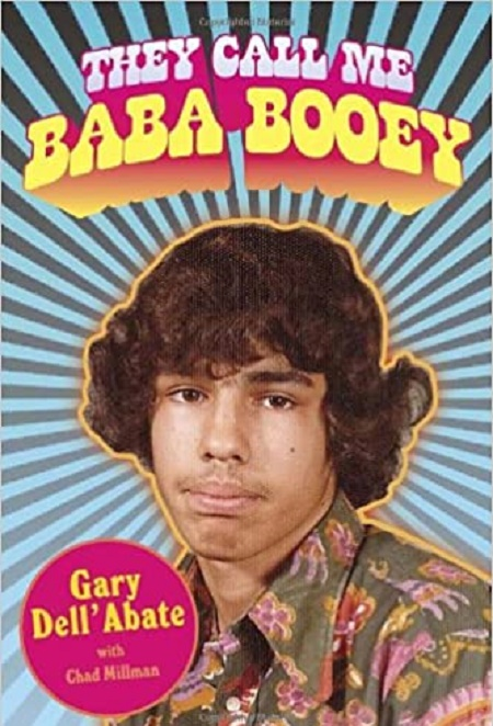 Gary Dell'Abate's biography They Call Me Baba Booey is listed on NY Times Best Seller .
