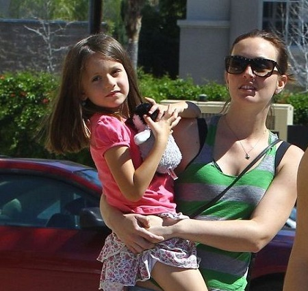 Leighton Meester with her daughter, Arlo Day Brody