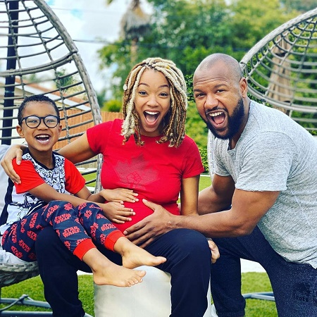 Sonequa Martin-Green and husband Kenric Green are expecting a girl