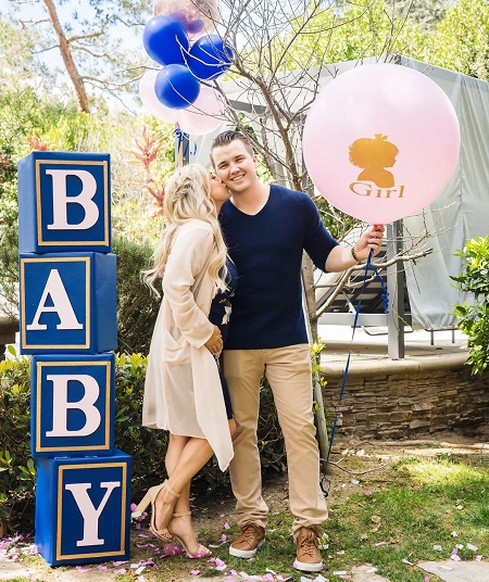 Sabrina Bryan is going to be a mom.
