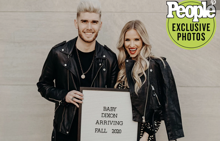 It's twins girls. American Idol Alum Colton Dixon and wife, Annie Coggeshall are expecting their first babies in the fall of 2020.