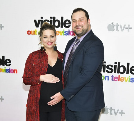 Max Adler and Jennifer Bronstein are welcoming their first child together in this early spring