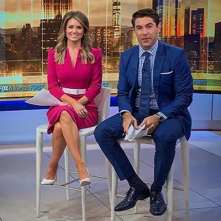 Rob Schmitt with his Co-anchor, Jillian Mele on FNC