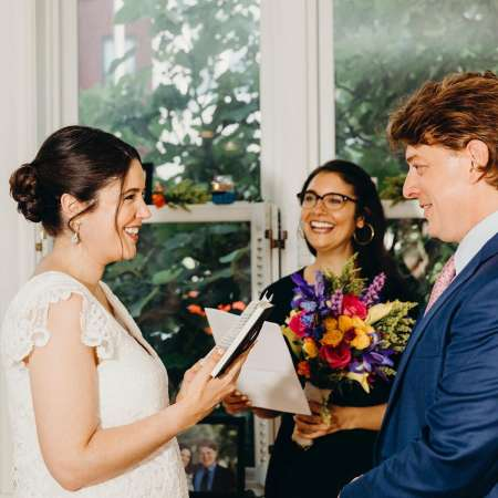 Michael Charles wedding photo