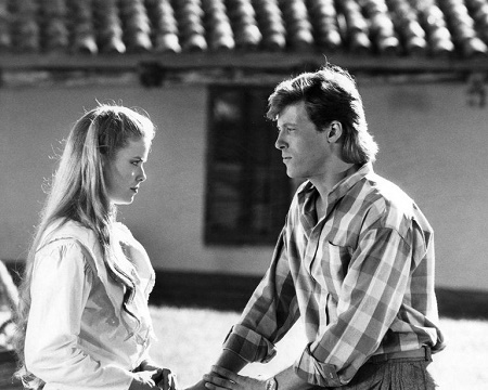 Kristina Wagner and Jack Wagner on General Hospital in 1984