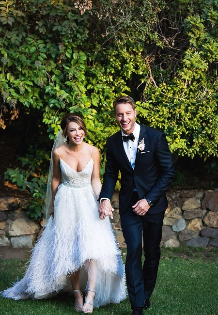 Chrishell Stause and Justin Hartley Weds on October 28, 2017 , After Four Year of Dating