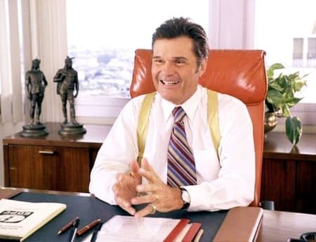 Fred Willard in the TV Show reprising his role