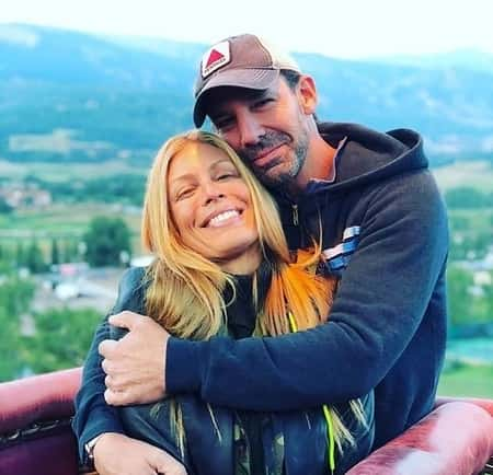 Jill Martin and her ex-fiance Erik Brooks enjoying a good time
