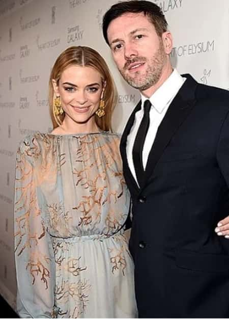 Kyle Newman with his estranged wife Jaime King