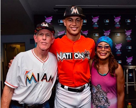 The Divorced Couple, Mike Stanton, and Jacinta Garay with their 40 years old Son, Giancarlo Stanton