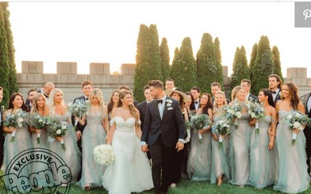 Jax Taylor and  Brittany Walked Down the Aisle Infornt of  240 guests