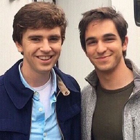 Bertie Highmore with his Older Brother, Freddie Highmore