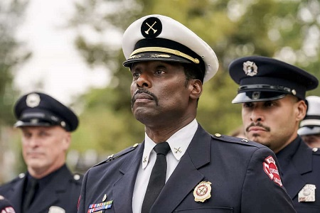 Eamonn Walker on Chicago Fire as Chief Wallace Boden