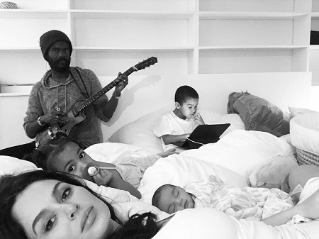 Gary Clark Jr. and Nicole Trunfio are Became Parents of Three in Total