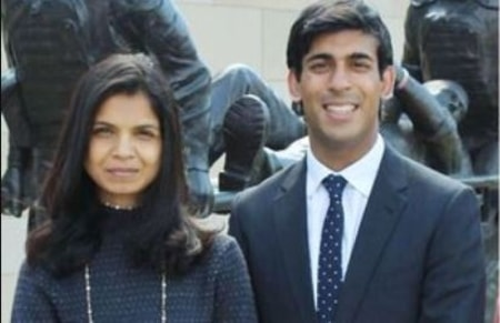 Chancellor Rishi Sunak His Wife Akshata Murthy Simple Wedding In 2009 Share Two Daughters Married Celeb