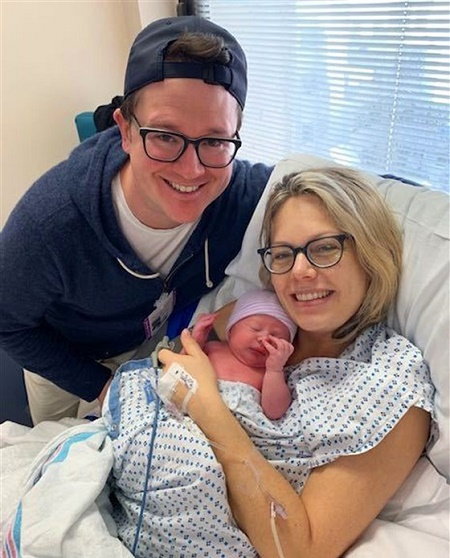 Dylan Dreyer and Brian Fichera Are Officilaly Parents of Two