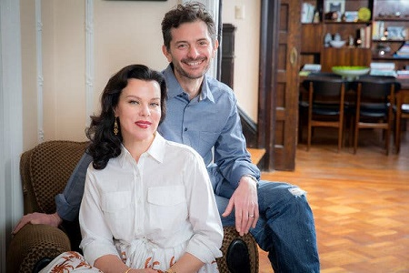 Gabriele Corcos and his wife, Debi Mazar are Married for 18 Years