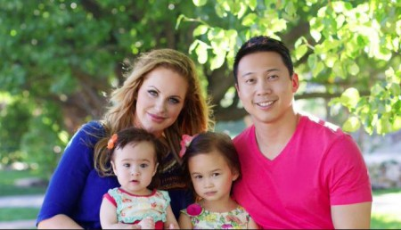 Divini Rae and Dr. Winston Fong with their two daughters
