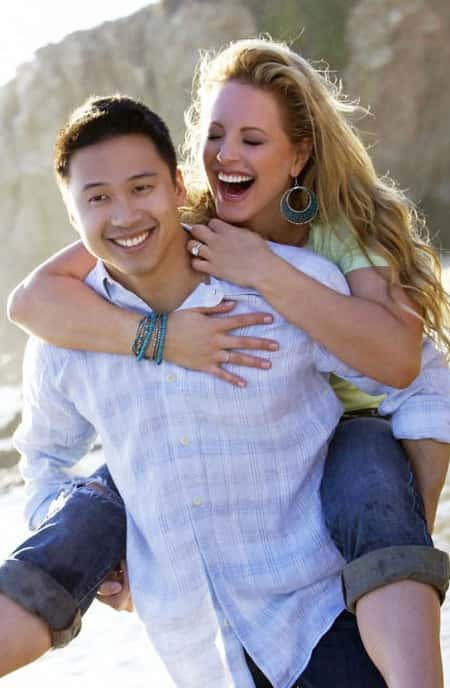Dr. Winston Fong and his wife Divini Rae enjoying a lovely time together