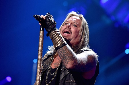 The former  lead vocalist of Motley Crue, Vince Neil has $50 Million Net Worth