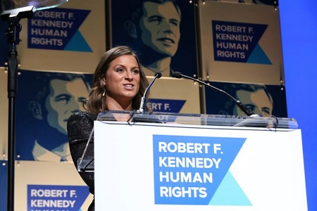 Michaela is associated with Teneo and the nonprofit Robert F. Kennedy Human Rights.