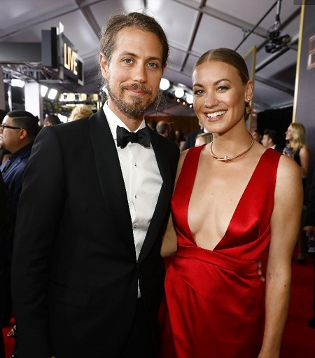 Yvonne Strahovski revealed the Secret Marriage with Actor, Tim Loden at the 2017 Emmys.